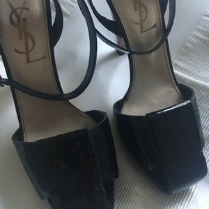 Patent leather YSL pumps size 7 1/2